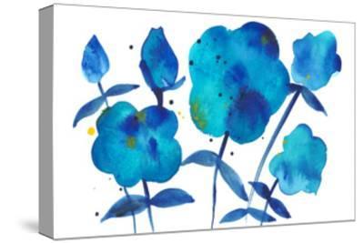 True Blue II-Alicia Ludwig-Stretched Canvas Print