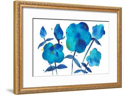 True Blue II-Alicia Ludwig-Framed Art Print