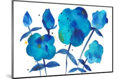 True Blue II-Alicia Ludwig-Mounted Art Print