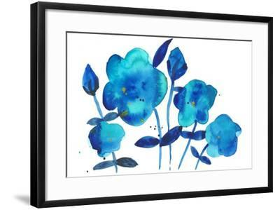 True Blue I-Alicia Ludwig-Framed Art Print