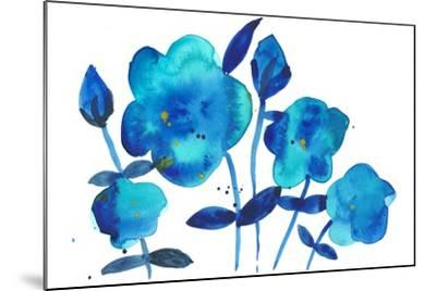 True Blue I-Alicia Ludwig-Mounted Art Print