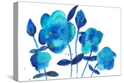 True Blue I-Alicia Ludwig-Stretched Canvas Print