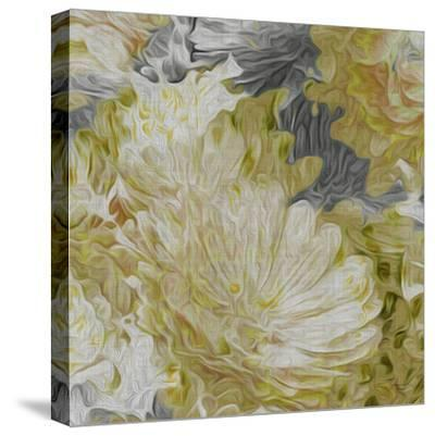 Mums in Sun II-James Burghardt-Stretched Canvas Print