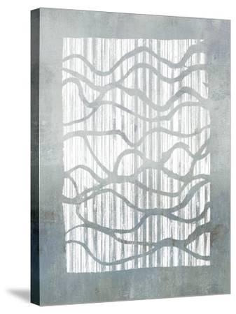 Inverse Grey-Jennifer Goldberger-Stretched Canvas Print