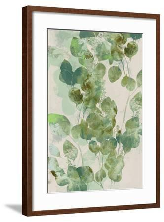 Watercolor Eucalyptus I-Jennifer Goldberger-Framed Art Print