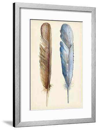 Plumage I-Alicia Ludwig-Framed Art Print