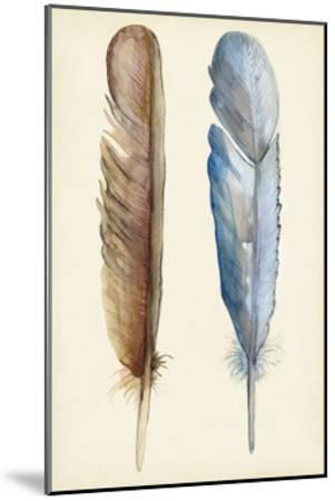 Plumage I-Alicia Ludwig-Mounted Art Print
