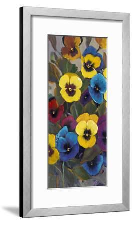 Pansy Panel I-Tim OToole-Framed Art Print