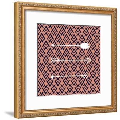 Deco Arrow II-Studio W-Framed Art Print