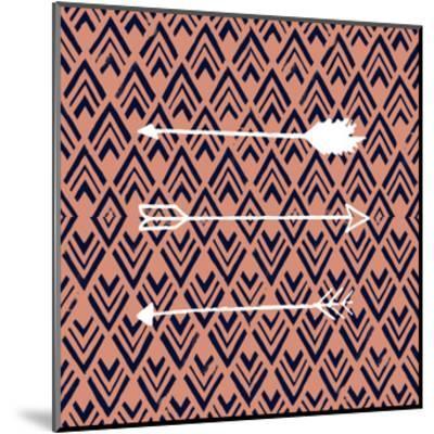 Deco Arrow II-Studio W-Mounted Art Print