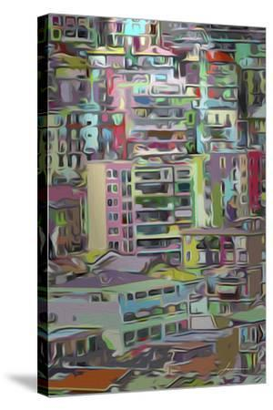 Stack III-James Burghardt-Stretched Canvas Print
