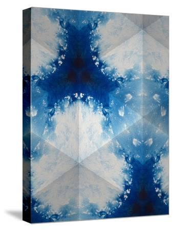 Sapphire Frost IV-Renee W^ Stramel-Stretched Canvas Print