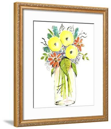 Flower Vase I-Julia Minasian-Framed Art Print