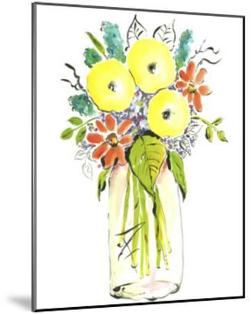 Flower Vase I-Julia Minasian-Mounted Art Print
