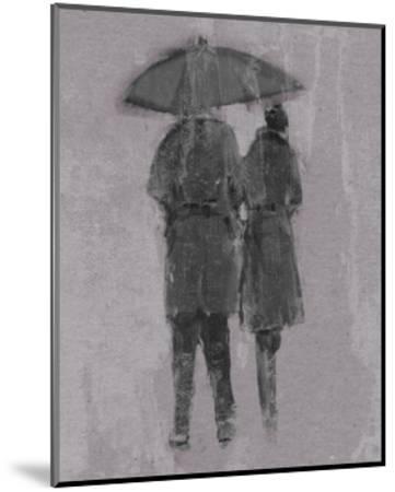 Rain Romance II-Studio W-Mounted Art Print
