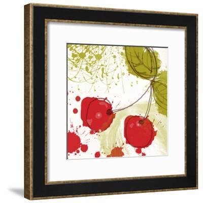 Modern Cherry-Irena Orlov-Framed Art Print