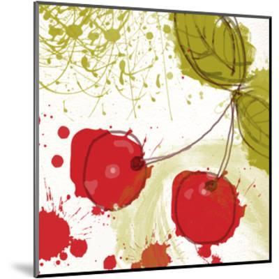 Modern Cherry-Irena Orlov-Mounted Art Print