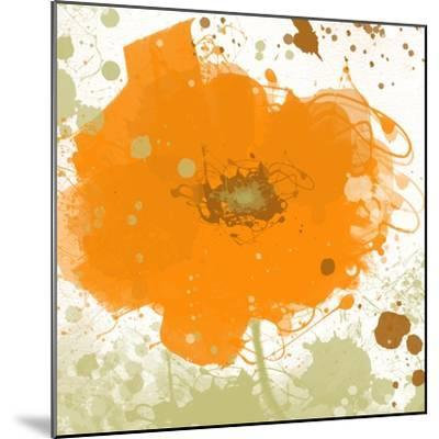 Modern Orange-Irena Orlov-Mounted Art Print