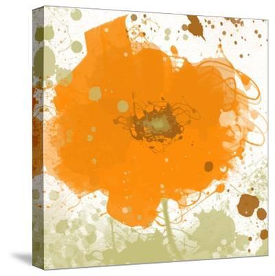 Modern Orange-Irena Orlov-Stretched Canvas Print