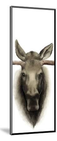 Triptych Moose II-Grace Popp-Mounted Art Print