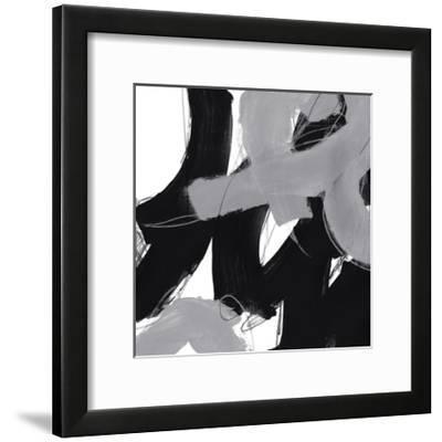 Monochrome IV-June Erica Vess-Framed Art Print