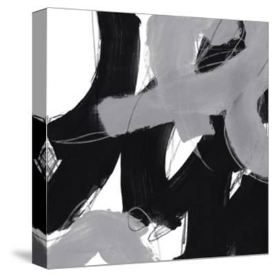 Monochrome IV-June Erica Vess-Stretched Canvas Print