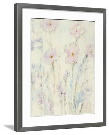 Lilac Floral I-Tim OToole-Framed Art Print