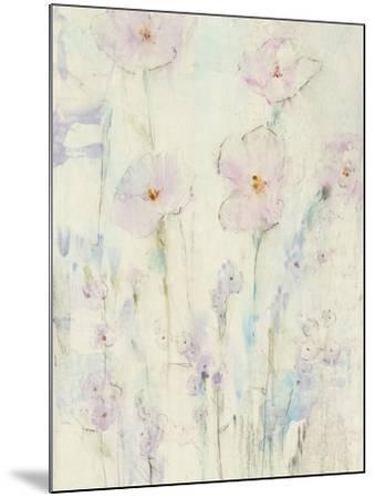 Lilac Floral I-Tim OToole-Mounted Art Print