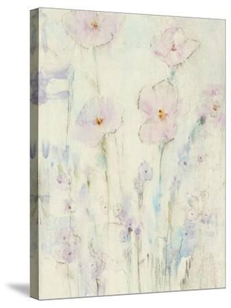 Lilac Floral I-Tim OToole-Stretched Canvas Print