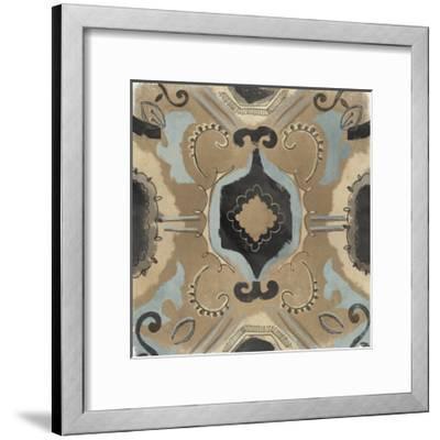 Offset Textile I-June Erica Vess-Framed Art Print