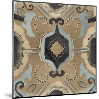 Offset Textile I-June Erica Vess-Mounted Art Print