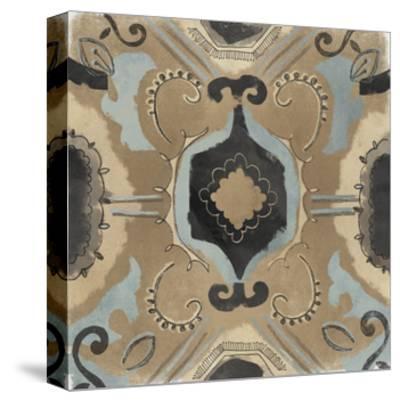 Offset Textile I-June Erica Vess-Stretched Canvas Print