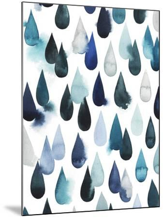 Water Drops I-Grace Popp-Mounted Art Print