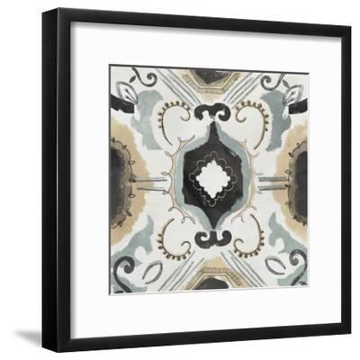 Offset Textile III-June Erica Vess-Framed Art Print