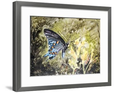 Butterfly in Nature I-B^ Lynnsy-Framed Art Print