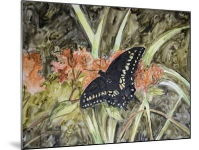 Butterfly in Nature III-B^ Lynnsy-Mounted Art Print