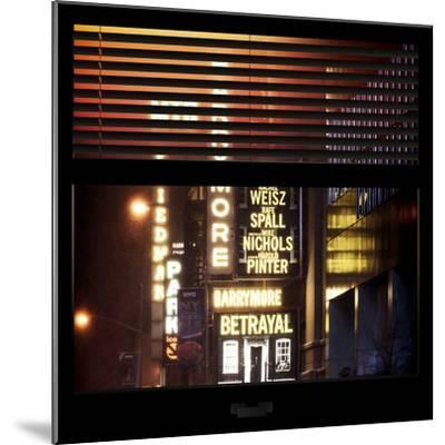 View from the Window - Broadway-Philippe Hugonnard-Mounted Photographic Print