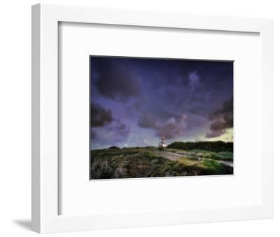 Les Poulains Lighthouse-Philippe Manguin-Framed Photographic Print
