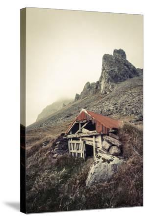 Abandoned Shelter Near Stokkness, Iceland, September 2015-Niall Benvie-Stretched Canvas Print