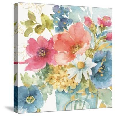 My Garden Bouquet II-Lisa Audit-Stretched Canvas Print