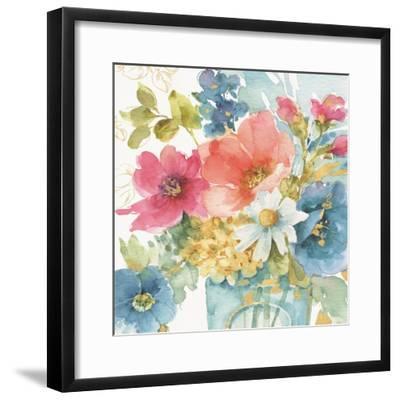 My Garden Bouquet II-Lisa Audit-Framed Art Print