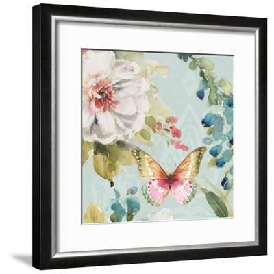 Colorful Breeze IV-Lisa Audit-Framed Art Print