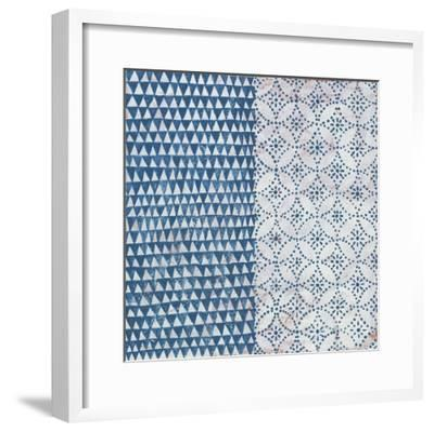 Maki Tile IV-Kathrine Lovell-Framed Art Print
