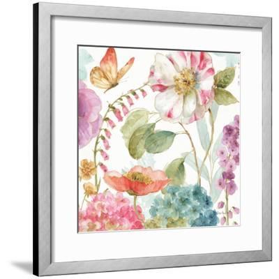Rainbow Seeds Flowers II-Lisa Audit-Framed Art Print