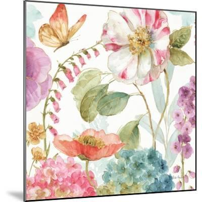 Rainbow Seeds Flowers II-Lisa Audit-Mounted Art Print