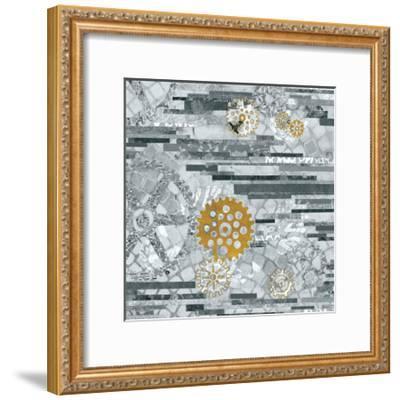 EU Timetable II BW-Kathy Ferguson-Framed Art Print