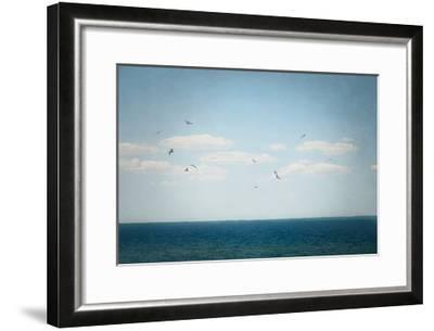 Calm Days IV Crop-Elizabeth Urquhart-Framed Art Print
