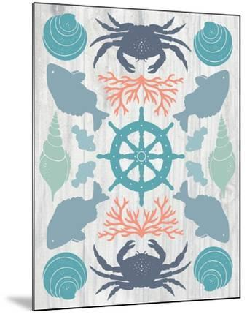 Coastal Otomi IV on Wood-Cleonique Hilsaca-Mounted Art Print