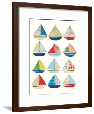Wind and Waves VII-Courtney Prahl-Framed Premium Giclee Print