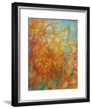 Bohemian Abstract Bright Crop-Danhui Nai-Framed Art Print